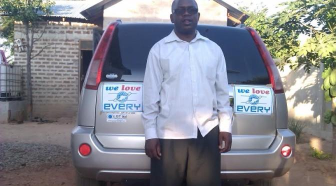 お客様の声 FROM タンザニア(日産 エクストレイル)