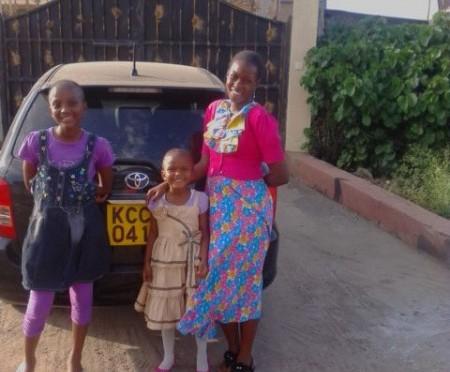 お客様からのメッセージ FROM ケニア(トヨタ/カローラフィルダー)