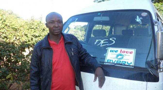 ジンバブエのお客様から写真が届きました!