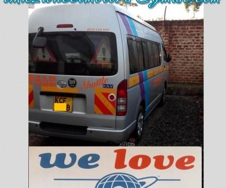 ケニアのパートナーからの写真