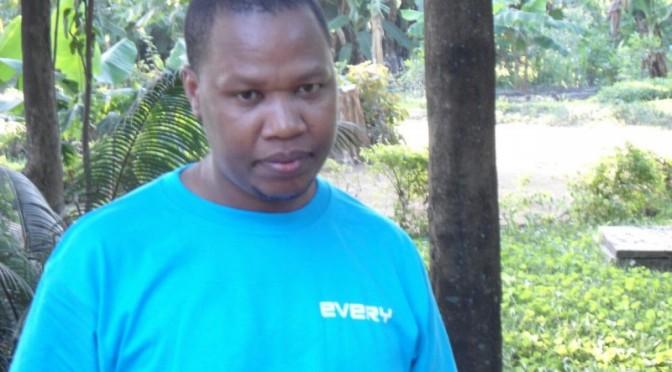 タンザニアMOROGORO支店 Patrick Mmari さん