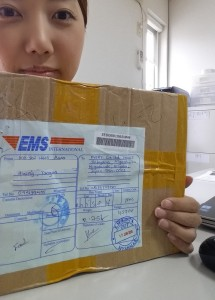 ミャンマーからのプレゼント