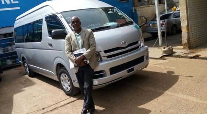 ケニアのお客様から写真が届きました。