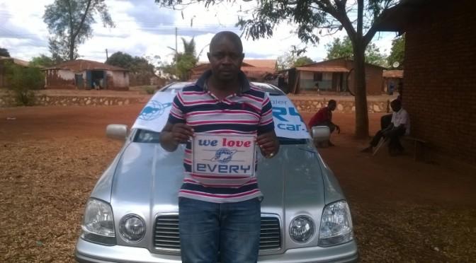 タンザニアのお客様からの写真 トヨタ/プログレ