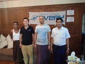 ミャンマーの代理店:Win Ko Ko Maung さん