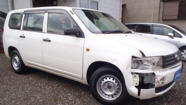 事故車買取り トヨタ/プロボックス